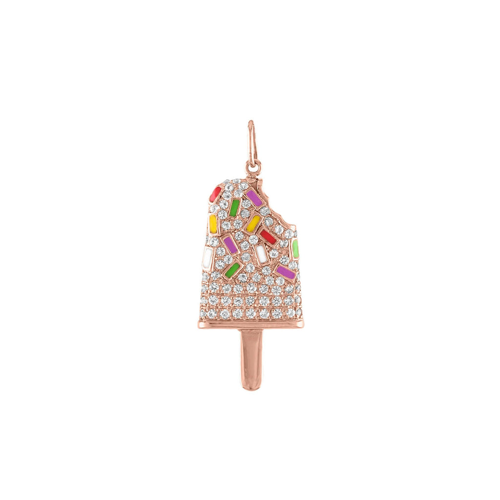 Pave Popsicle Charm