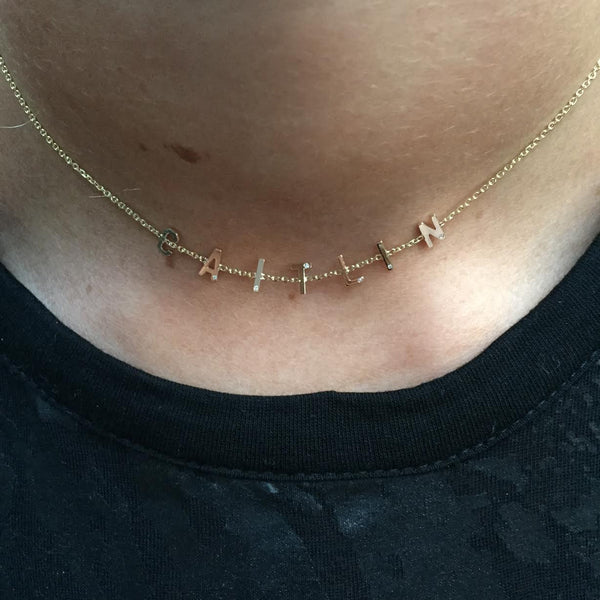 Mini Mantra Choker