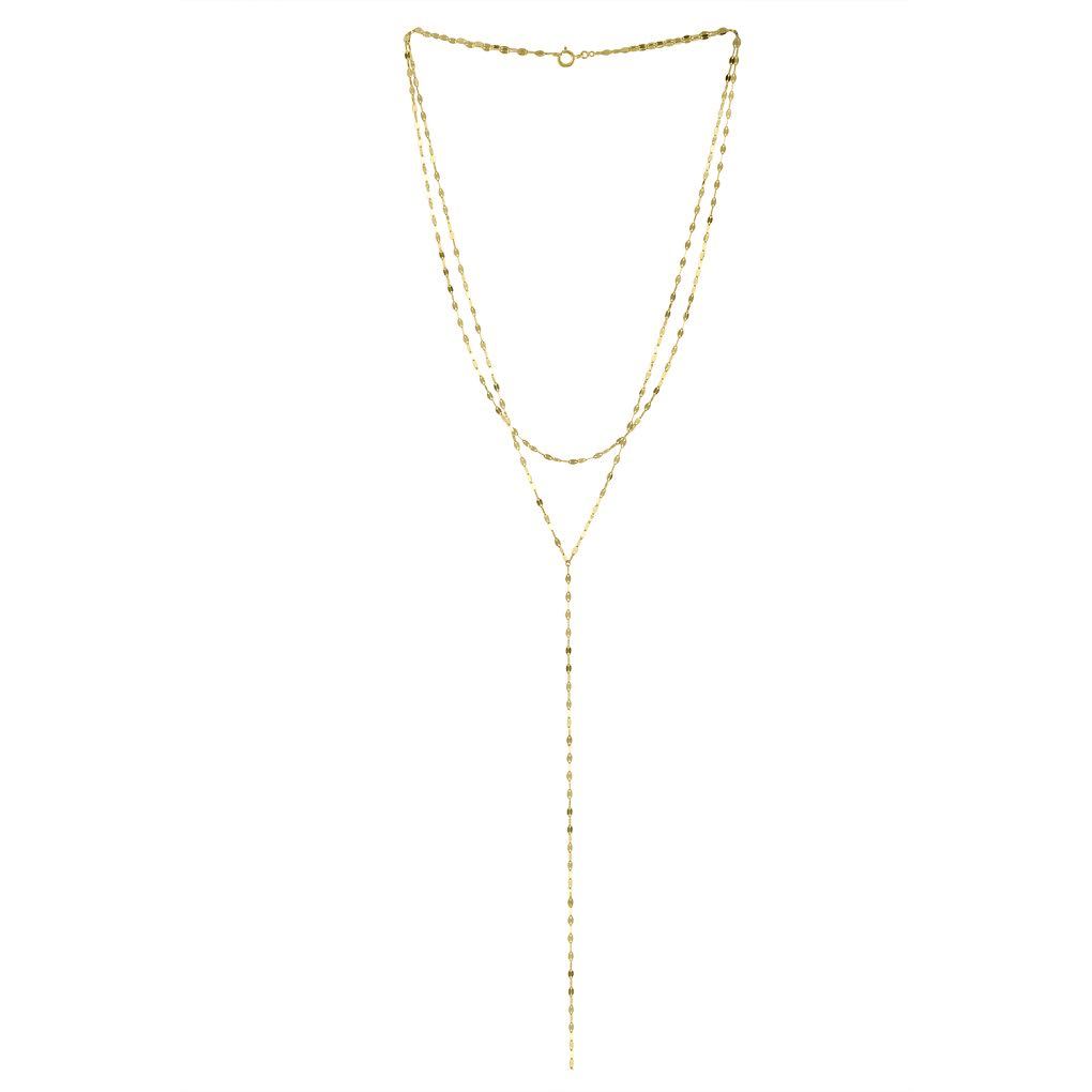 Olivia Double Y Necklace