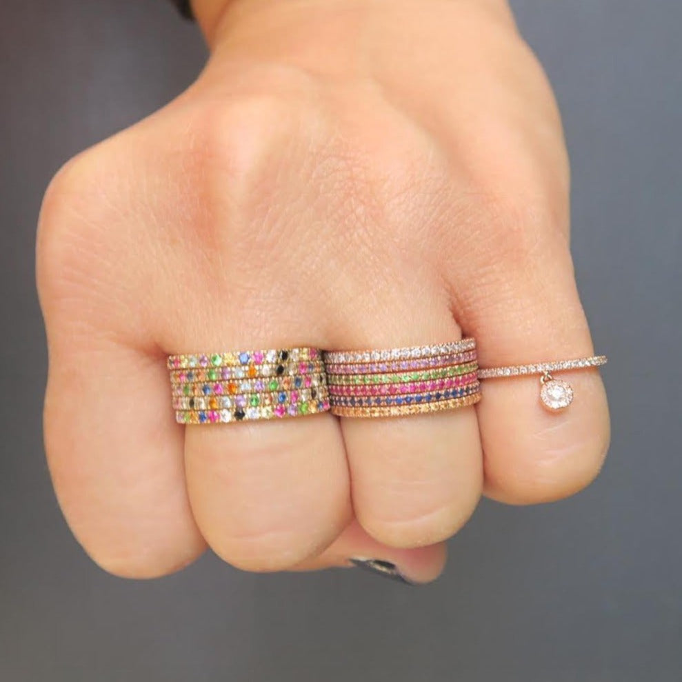 also on wedding elegant bees show bands a your me colorful advice rings little img gemstone