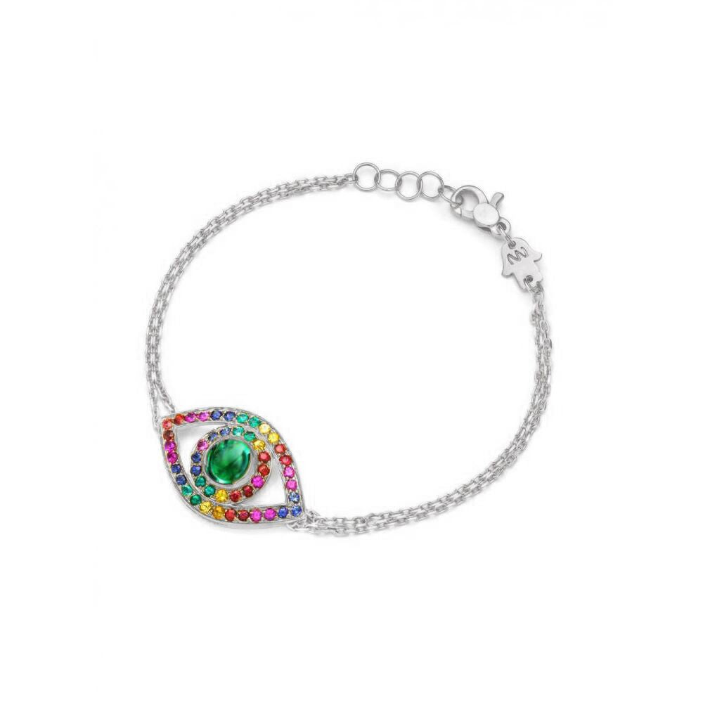 Big Rainbow Eye Bracelet