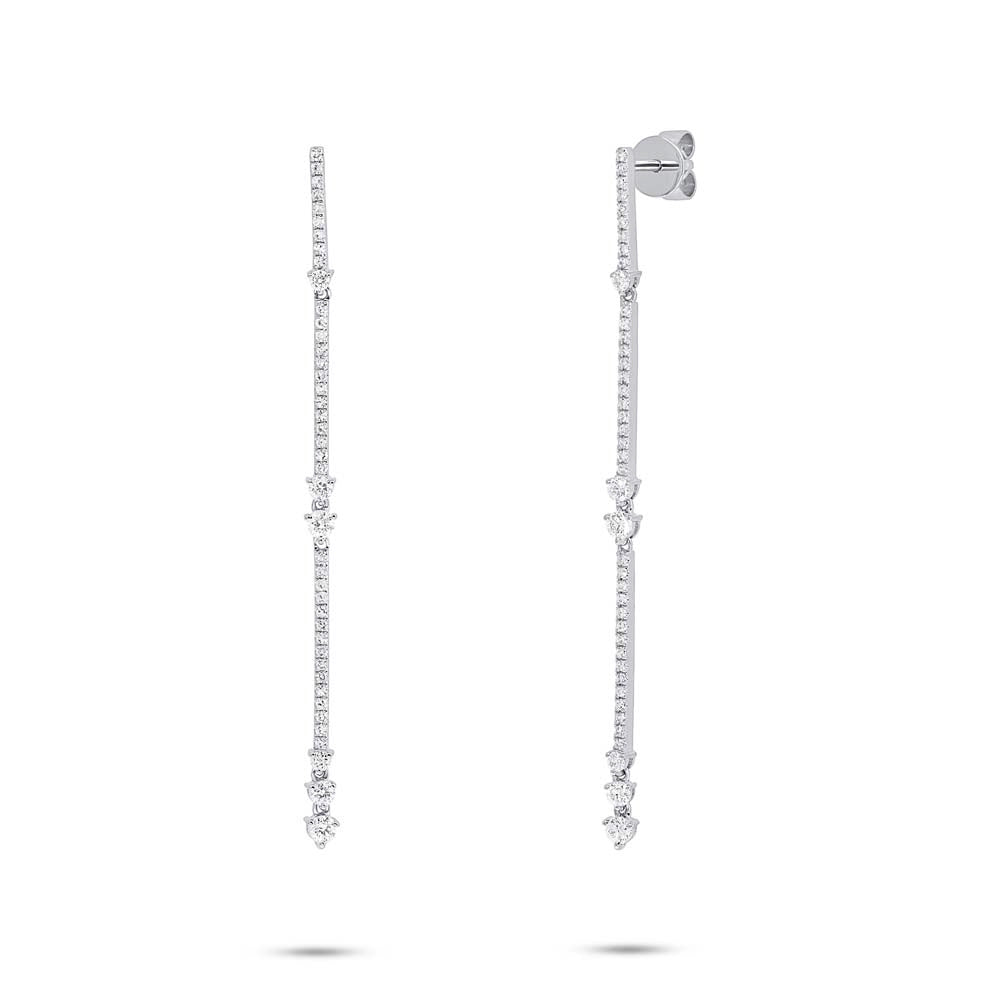 Diamond Strand Earrings