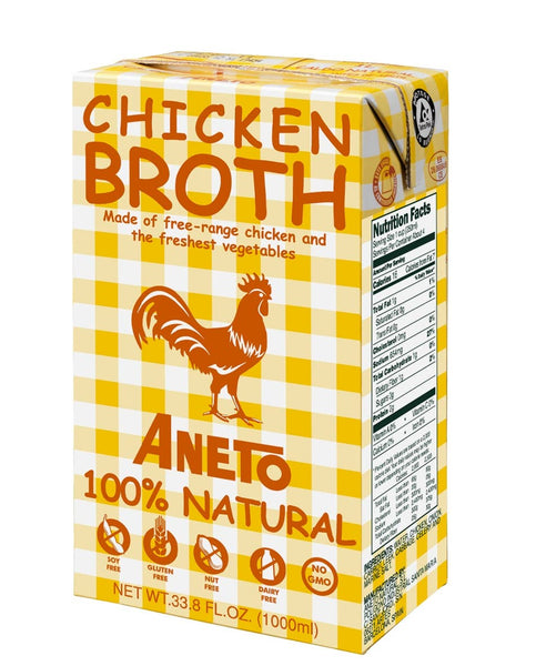 Matiz España - Aneto Chicken Broth - 34fl oz