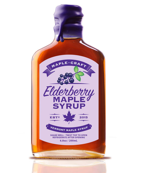 Maple Craft Foods, LLC - Elderberry Maple Syrup