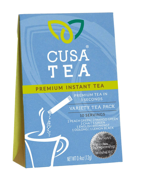 Cusa Tea and Coffee - Variety Pack Instant Tea Box