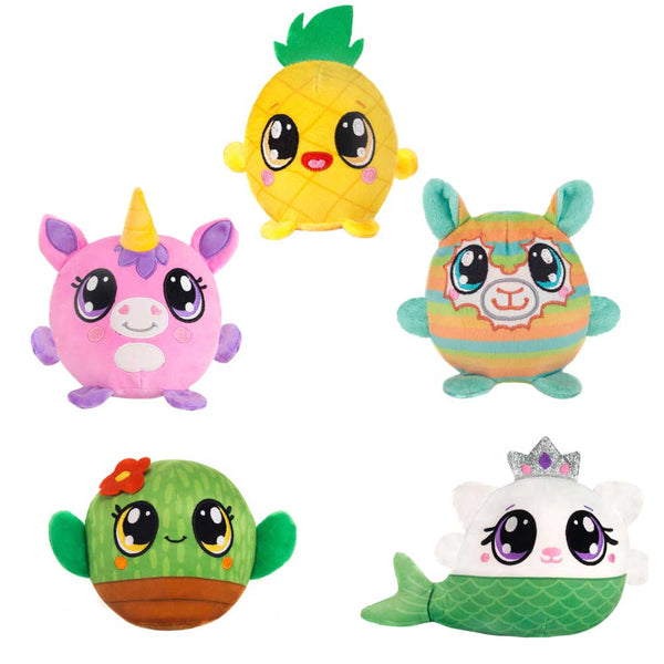 Fiesta Toys - MUSHY PLUSHIES - 3.5IN FRIENDS BLIND BAG - 5 ASST. - TIANA, PIP, CHA CHA, ADDY N LYLA