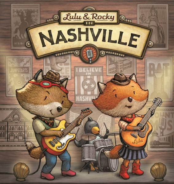 Sleeping Bear Press - Lulu & Rocky in Nashville