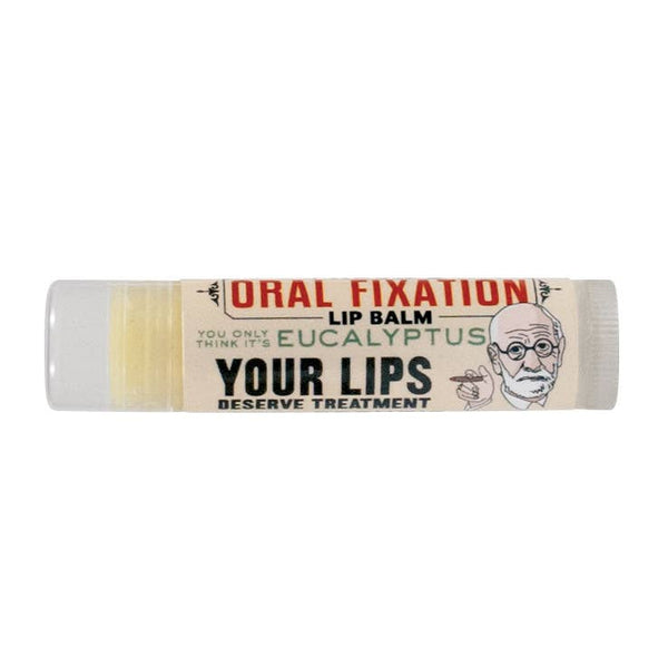 Unemployed Philosophers Guild - Freud's Oral Fixation Lip Balm - Peppermint Flavor