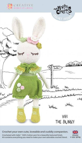 Creative World of Crafts - Vivi The Bunny Crochet Kit