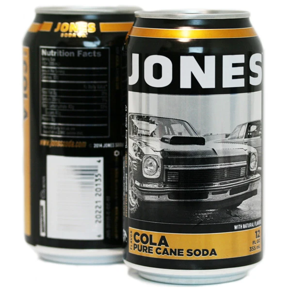 Jones Soda - Jones Cola - 24 Pk Cans