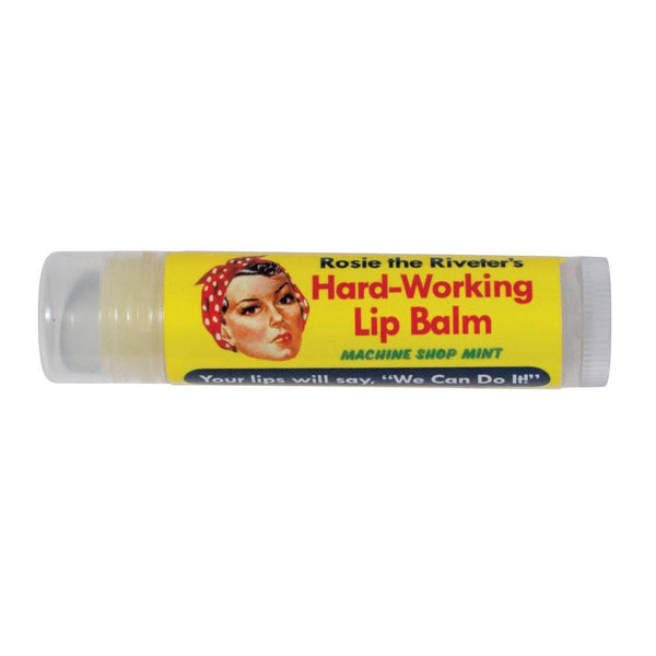 Unemployed Philosophers Guild - Rosie The Riveter's Hard Working Lip Balm - Peppermint