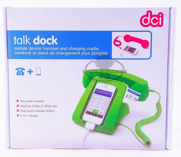 DCI Talk Dock Mobile Drive Handset & Charging Cradle