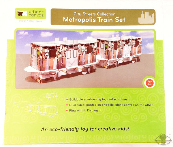 Urban Canvas Metropolis Train Set