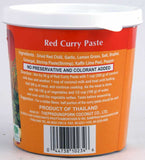 Mae Ploy Red Curry Paste ingredients