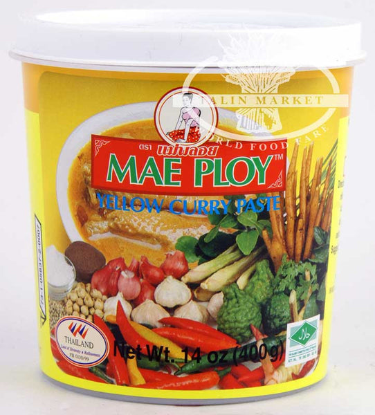 Mae Ploy Yellow Curry Paste 14 oz