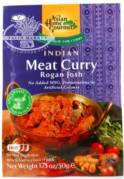 Asian Home Gourmet Indian Meat Curry Rogan Josh Sauce