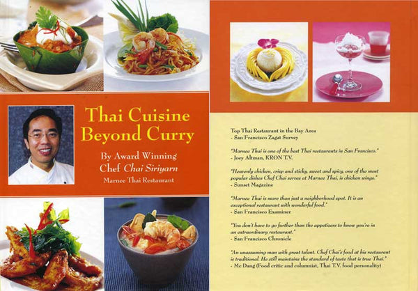 Thai Cuisine Beyond Curry by Chai Siriyarn