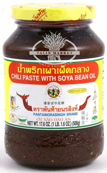 Pantainorasingh Chili Paste With Soya Bean Oil Talin