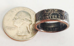 Birth Year Coin RIngs
