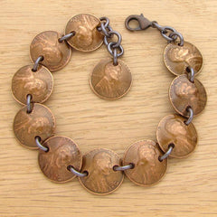 1968 Penny Bracelet - Only 1 Available - Great Gift For Turning 50