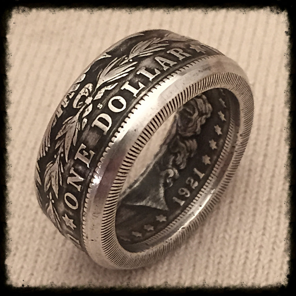 Silver Quarter Ring For Sale