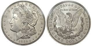 Morgan Silver Dollar Late 1800 S To Early 1900 S Coin