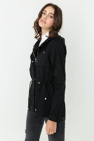 Paige, Windbreaker jacket with hooded