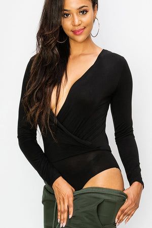 Kendall, Black Bodysuit - Dimesi Boutique