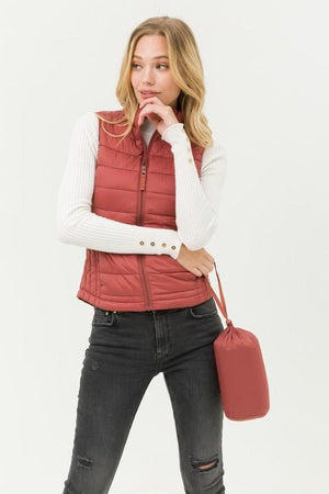 Ultra Lightweight Puffer Vest - Dimesi Boutique