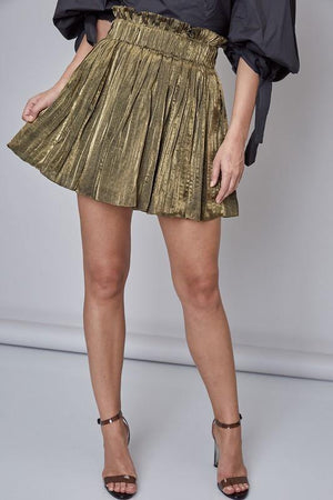 Frida, Gold Plated skirt - Dimesi Boutique