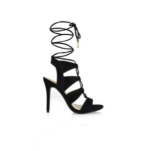 Giovanni, Open toe heels - Dimesi Boutique
