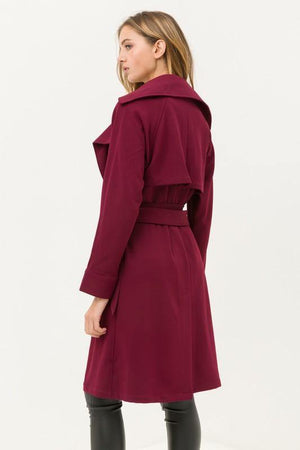 Amani, Belted Trench Lightweight Coat