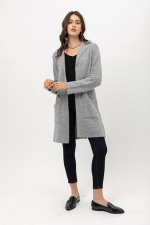 Bonnie, Long knitted cardigan