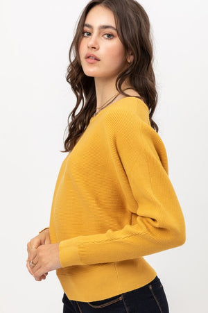 Jessica, Dolman sleeve sweater