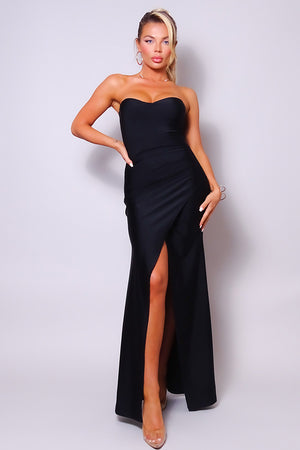 Isabella, Strapless sweetheart silhouette formal dress
