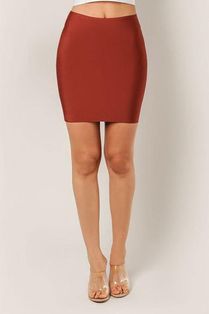 Thalia, Spice bandage mini skirt - Dimesi Boutique