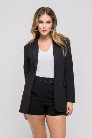 Wendy, Long sleeve button up blazer