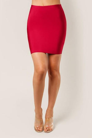 Thalia, Vino bandage mini skirt - Dimesi Boutique