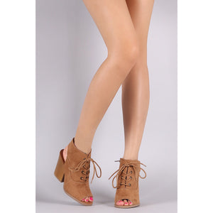 Barnes, Open toe Booties - Dimesi Boutique