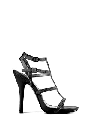 Bridget, Open toe ankle strap heels - Dimesi Boutique