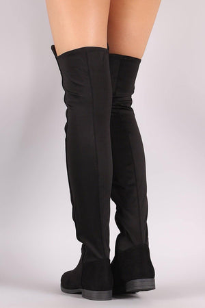 Oksana, Thigh high flat boots
