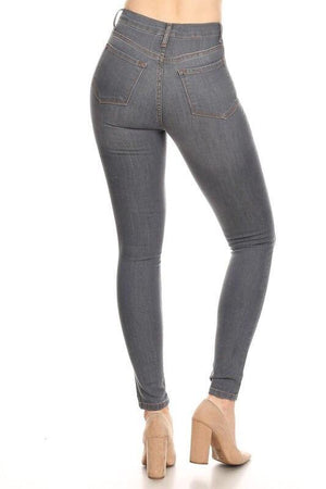 High rise fitted Jeans - Dimesi Boutique