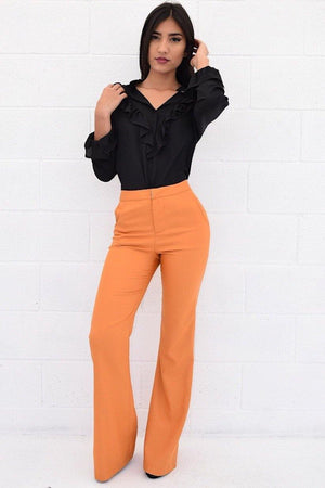 Bell bottom slacks - Dimesi Boutique