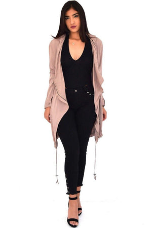 Emily, Long jacket with pocket