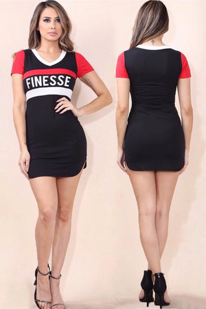 Finesse, Graphic t-shirt dress - Dimesi Boutique
