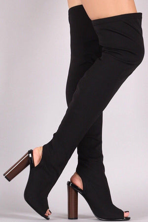 Connie, Black Knee high Boots - Dimesi Boutique
