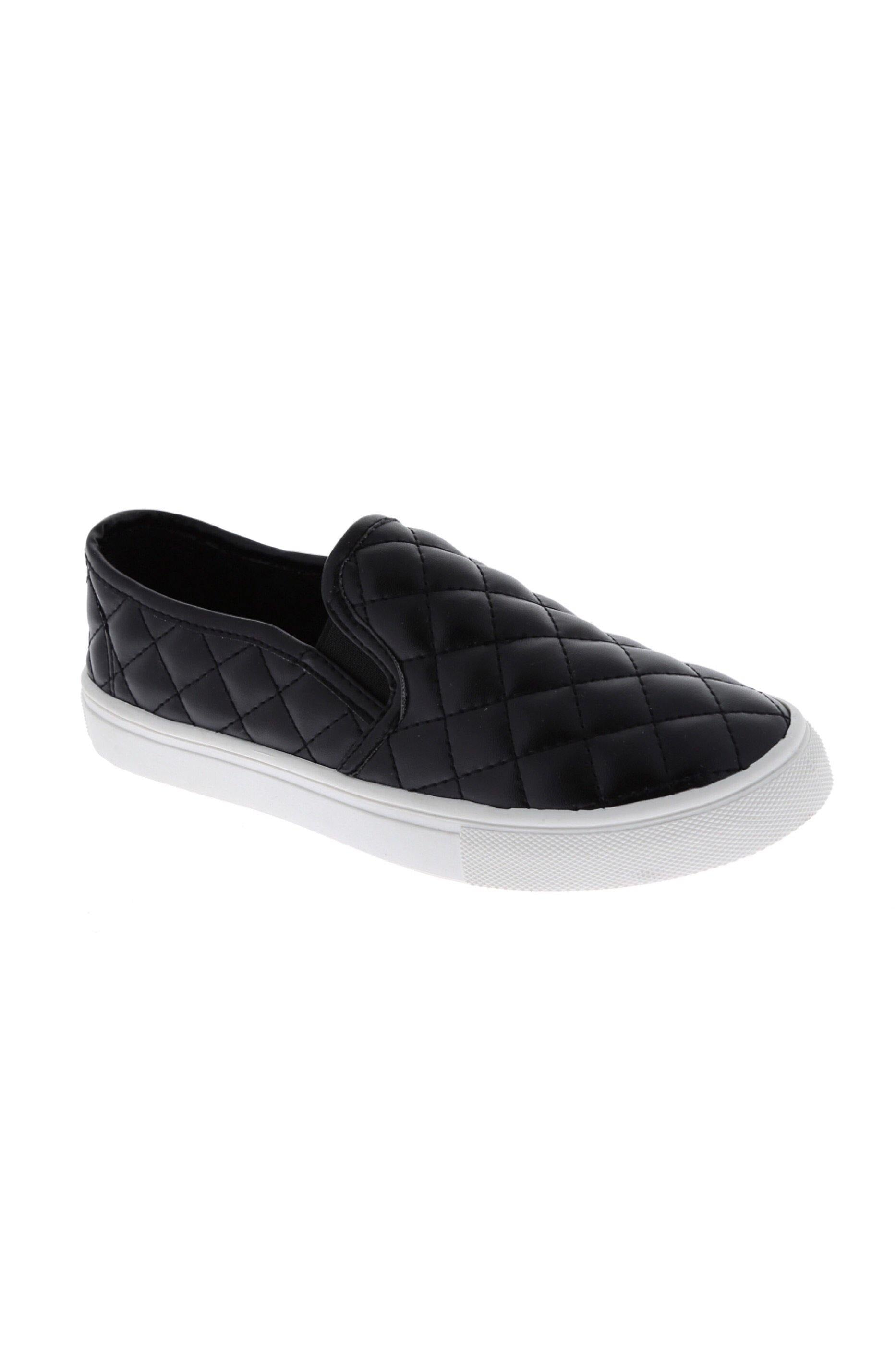 Becky black slip on Tennis
