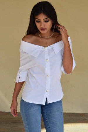 Piper Off the Shoulder Blouse - Dimesi Boutique