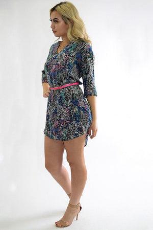 Kia multicolor summer dress - Dimesi Boutique