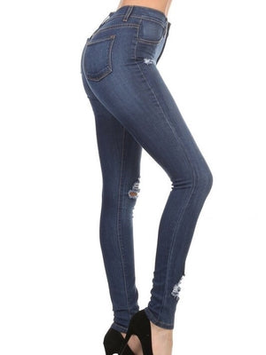 Carl high rise blue Jeans - Dimesi Boutique